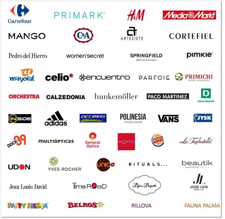 160315_Cuadro_FAN Mallorca Shopping_Marcas_Confirmadas