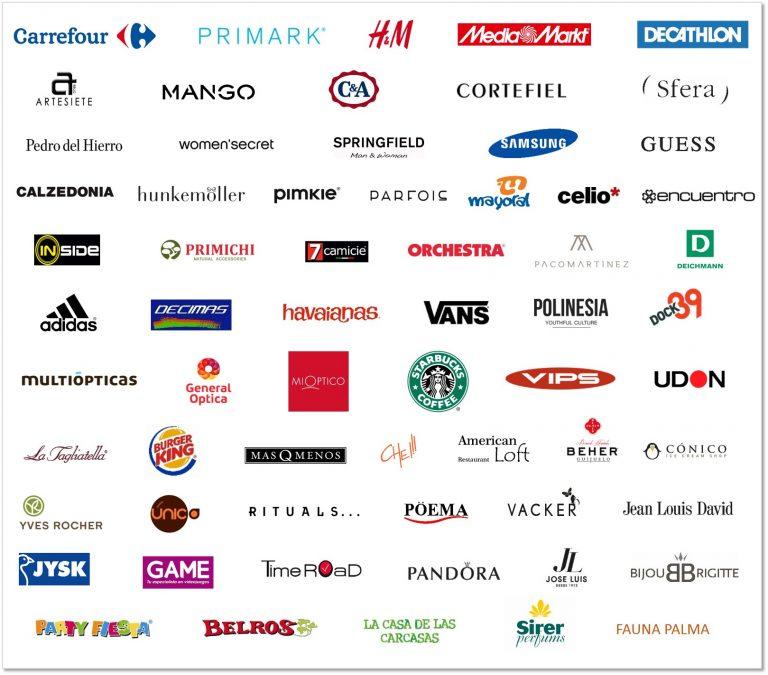 160826_Cuadro_FAN Mallorca Shopping_Marcas_Confirmadas vips