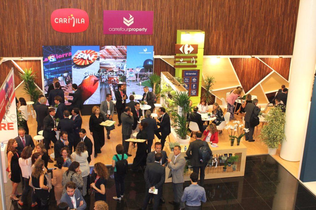 Stand de Carrefour Property y Carmila_XV Congreso Centros Comerciales
